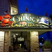 Photo taken at Bob Chinn's Crab House by oma t. on 9/8/2012