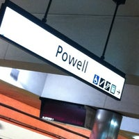 Photo taken at Powell St. BART Station by Zett on 7/28/2012