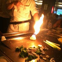 Photo taken at Kiku Hibachi Grill & Sushi Bar by Sara A. on 6/29/2012