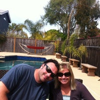 Photo taken at Blazevich Pool Side Party by Jason B. on 4/8/2012