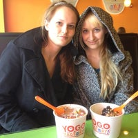Photo taken at Yogo Factory by ⚡ The G. Man ⚡ on 3/11/2012