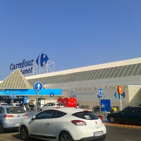 Photo taken at Carrefour by Richard G. on 9/7/2012