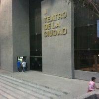 Photo taken at Teatro de la Ciudad by Pako T. on 4/21/2012