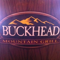 Photo taken at Buckhead Mountain Grill by Angie F. on 4/9/2012