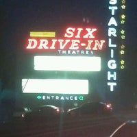 Photo taken at Starlight Six Drive-In by Natasha A. on 4/23/2012