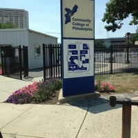 Photo taken at Community College of Philadelphia by Desiree L. on 7/5/2012