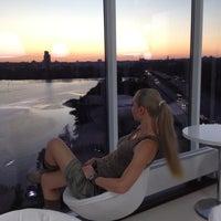 Снимок сделан в Sky lounge (WeekEnd, Небо) пользователем 🎀Natalia K. 6/17/2012