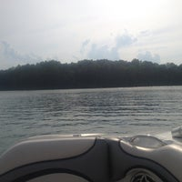 Photo taken at On The Boat At Belews Lake by Amanda R. on 5/17/2012