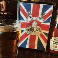 Photo taken at Ye Olde King's Head by Bruno M. on 5/6/2012
