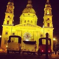 Photo taken at Szent István tér by AlenaZ on 6/8/2012