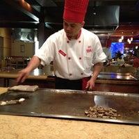 Photo taken at Kanki Japanese House of Steaks & Sushi by Tameika R. on 3/25/2012