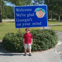Photo taken at Georgia Visitors Center by Jayson L. on 7/13/2012