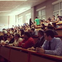 Photo taken at Facultad De Ciencias Económicas Y Empresariales by Joaquin R. on 5/10/2012