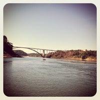 Photo taken at Puente Internacional de la Amistad by Carlos C. on 5/9/2012