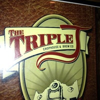 Photo taken at Triple J Chophouse by Shayla B. on 9/8/2012