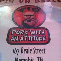 Photo taken at Pork with an  attitude by Tiffani T. on 5/4/2012