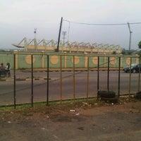 Photo taken at MKO Abiola Int'l Stadium by Irene I. on 8/5/2012