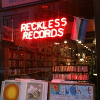 Photo taken at Reckless Records by Bobby D. on 8/8/2012