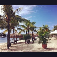 Photo taken at Bluewater Maribago Beach Resort by Angeli T. on 5/5/2012
