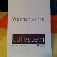Das Foto wurde bei Cafe Stein von Graham B. am 5/12/2012 aufgenommen