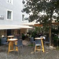 Photo taken at FLAVOUR Weinbar Restaurant by Markus W. on 8/24/2012