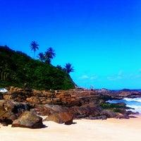 Photo taken at Praia do Buracão by Leandro M. on 6/7/2012