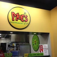 Photo taken at Moe's Southwest Grill by Andrew on 3/7/2012