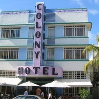 Photo taken at Colony Hotel by Roderick V. on 7/15/2012