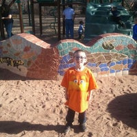 Photo taken at Manitou Springs Memorial Park by Rudy V. on 3/4/2012