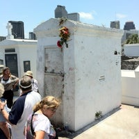 Photo taken at Tomb Of Marie Laveau by Aaron A. on 6/13/2012