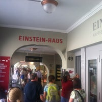 Photo taken at Einstein-Haus by johnpsom ⛵. on 8/14/2012