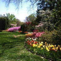 Photo taken at Hillwood Estate, Museum & Gardens by Emily M. on 4/6/2012