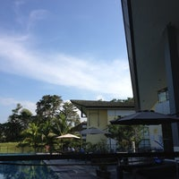 Photo taken at Novotel Manado Golf Resort & Convention Center by Maria I. on 8/31/2012