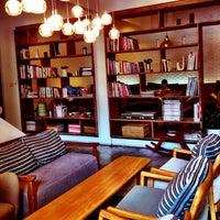 Photo taken at li-bra-ry by Phak on 3/17/2012