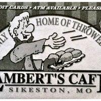 Photo taken at Lambert's Cafe by Greg T. on 7/14/2012