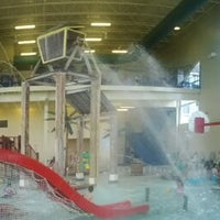 Photo taken at Buccaneer Bay Aquatic Fun Center by Ed C. on 6/2/2012