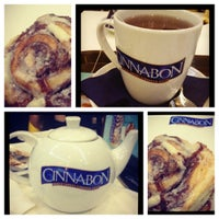 Photo taken at Cinnabon by Maryana on 4/30/2012