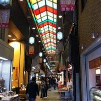 Photo taken at Nishiki Market by いも い. on 5/11/2012