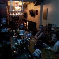 Photo taken at Tezgah Kitapevi Cafe Bar by Tezgah T. on 7/8/2012