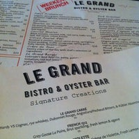 Photo taken at Le Grand Bistro & Oyster Bar by Ben I. on 7/7/2012