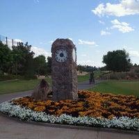 Photo taken at Desert Pines Golf Club and Driving Range by Benji S. on 4/15/2012