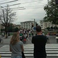 Photo taken at H Ferdinand-Hanusch-Platz by Elijah S. on 7/25/2012