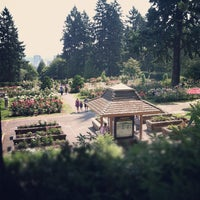 Photo taken at International Rose Test Garden by Andy L. on 8/12/2012