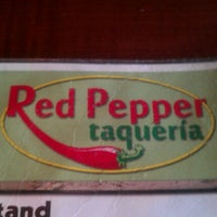 Photo taken at Red Pepper Taqueria by Carey W. on 6/29/2012