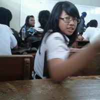Photo taken at SMA Kartika Siliwangi 1 Bandung by Laela N. on 7/9/2012