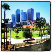 Photo taken at LAPD Lawn Dog Park by Jo J. on 8/2/2012