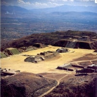 Photo taken at Monte Albán by Oscar V. on 8/12/2012