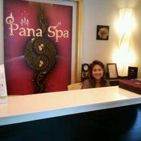 Photo taken at Pana Spa by Thanu C. on 6/30/2012