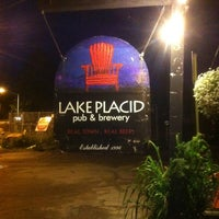 Photo taken at Lake Placid Pub & Brewery by Lorenzo F. on 8/11/2012