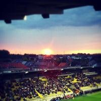 Photo taken at Herman Vanderpoortenstadion | Het Lisp by Matthijs V. on 8/3/2012